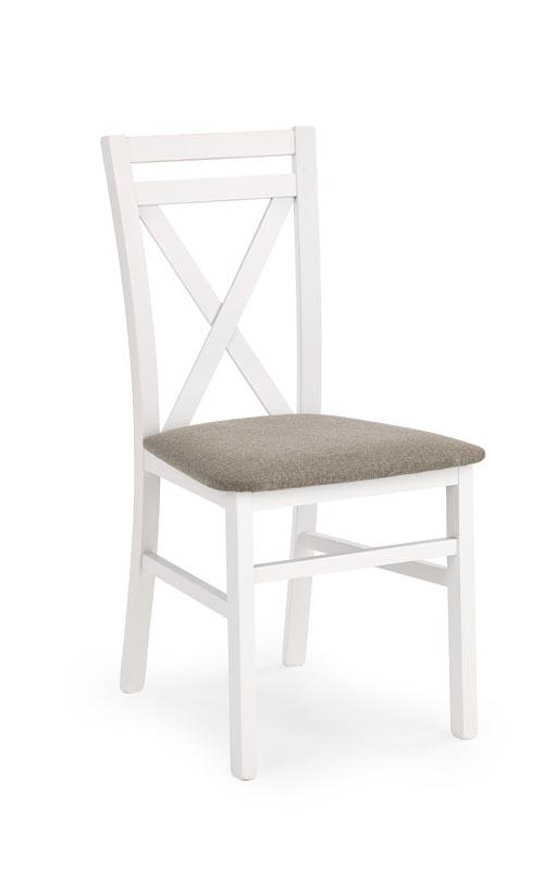 DARIUSZ stolička biela / tap: Inari 23