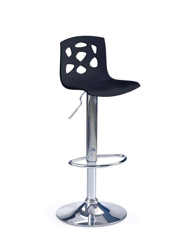 H48 barová stolička čierna