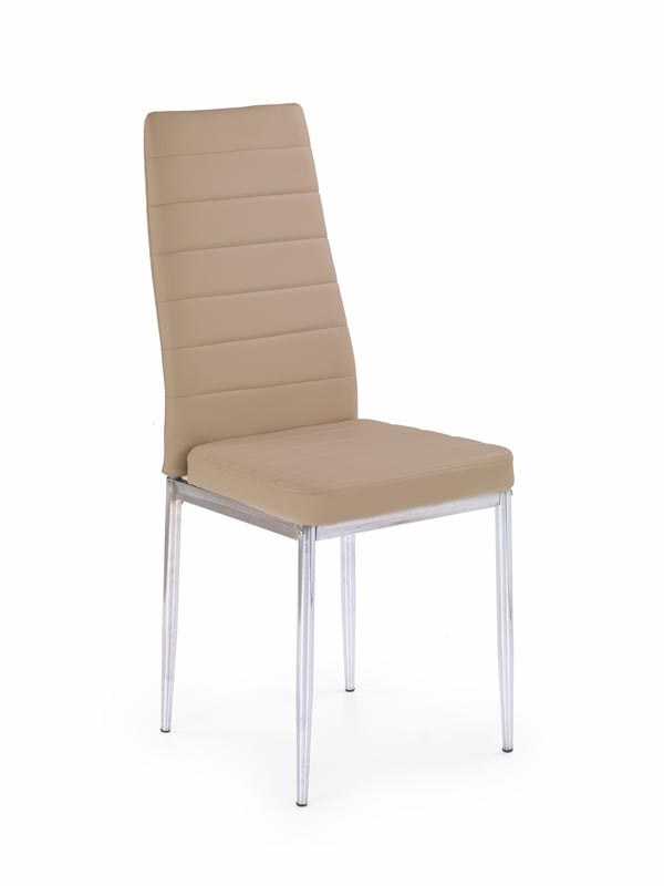 K70 stolička tmavo hnedá