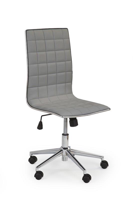 TIROL kancelárska stolička šedá