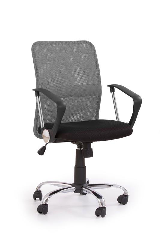 TONY kancelárska stolička šedá