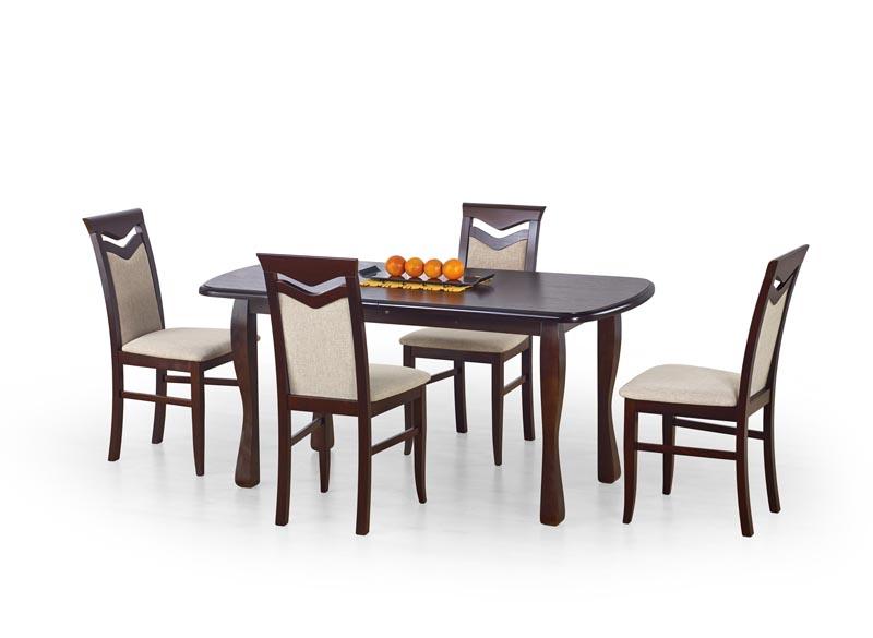 HENRYK stôl tmavý orech