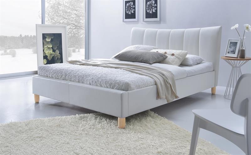 SANDY postel čalúnená biela