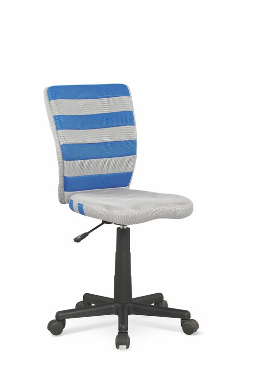 FUEGO detská stolička modro / šedá