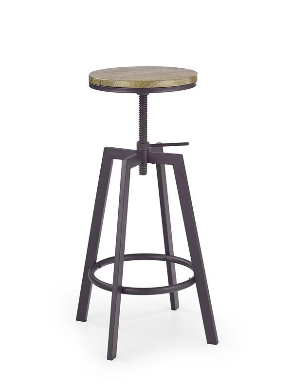 H64 barová stolička old vasion / coffe - NA SKLADE!