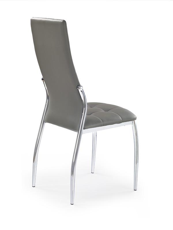 K209 jedálenská stolička, šedá