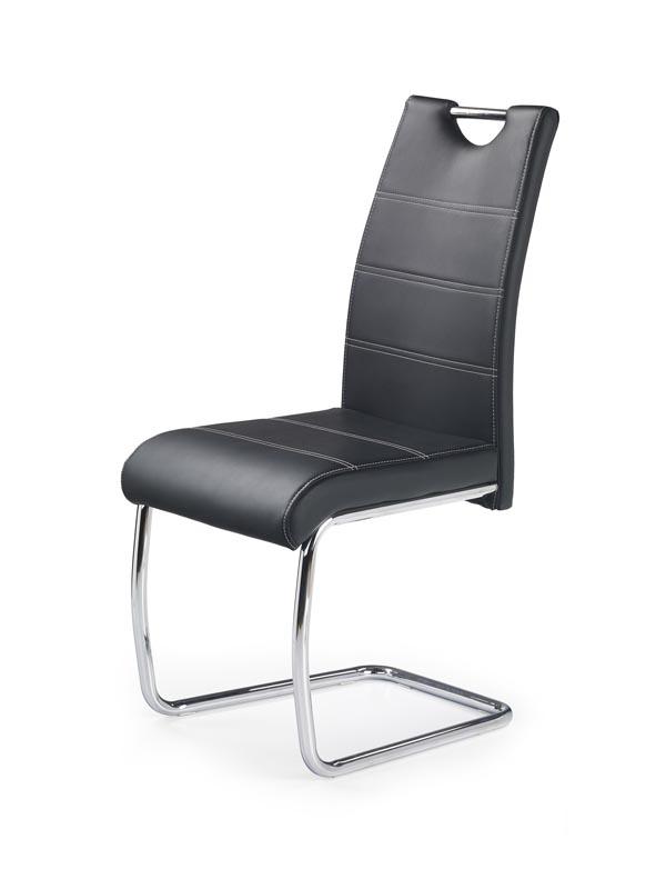 K211 stolička čierna