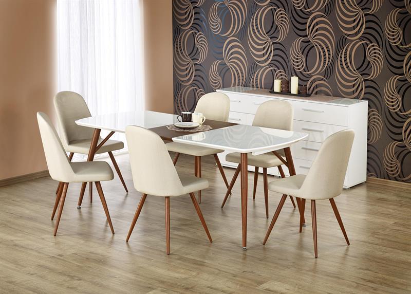 RICHARD stôl rozkladací čerešňa / biely