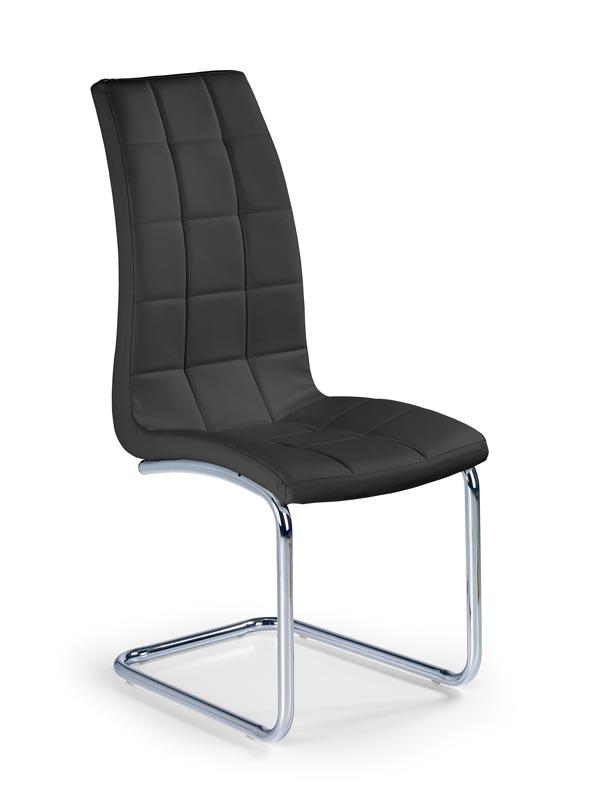 K147 stolička čierna