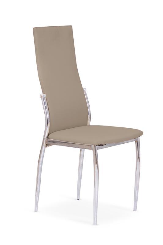 K3 stolička chróm/cappuccino