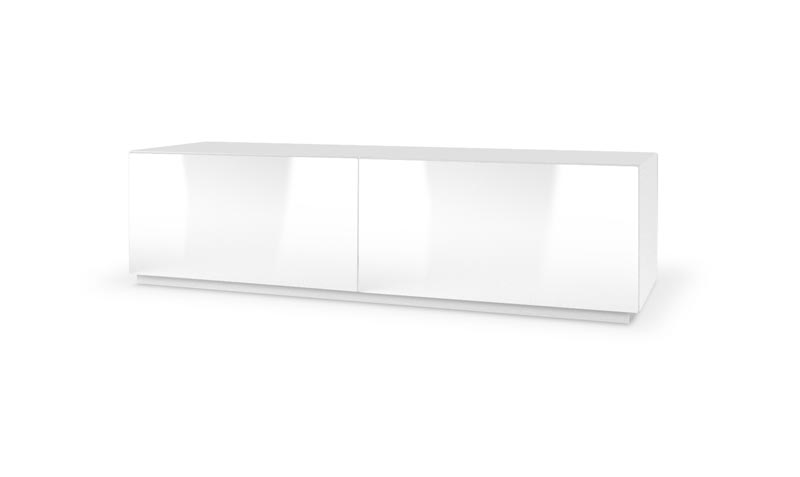 LIVO RTV-160S stojacia TV- komoda, biela