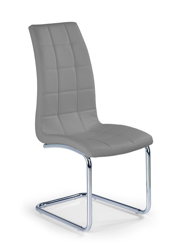 K147 stolička šedá