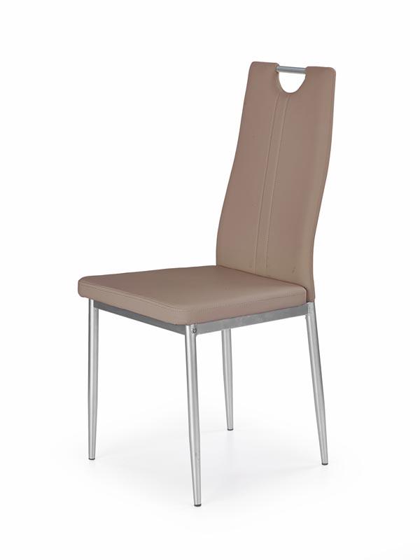 K202 jedálenská stolička, cappuccino