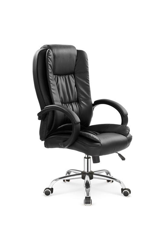RELAX kancelárska stolička: čierna