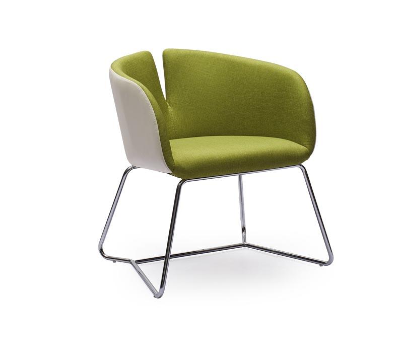 PIVOT stolička zelená