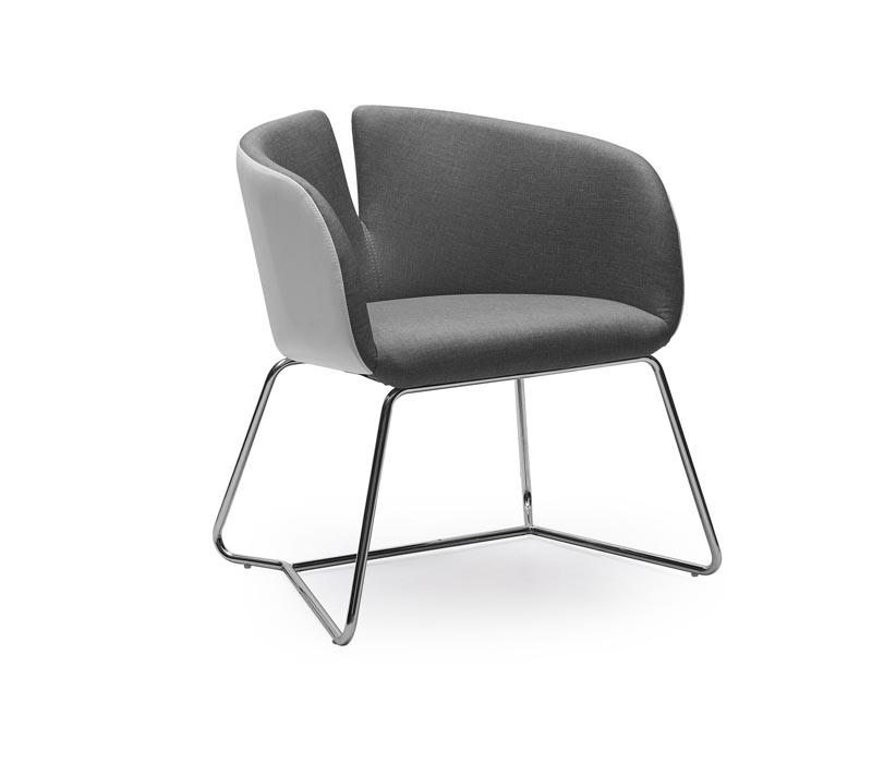 PIVOT stolička šedá