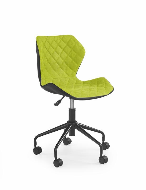 MATRIX detská stolička čierna / zelená