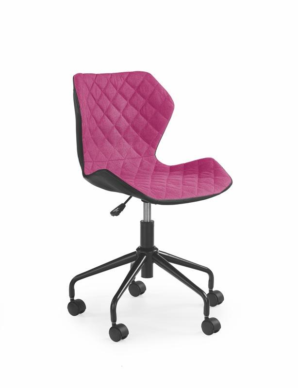 MATRIX detská stolička čierna / ružová
