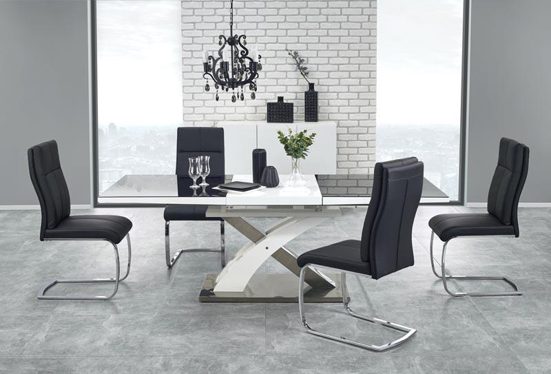 SANDOR 2 stôl, čierna