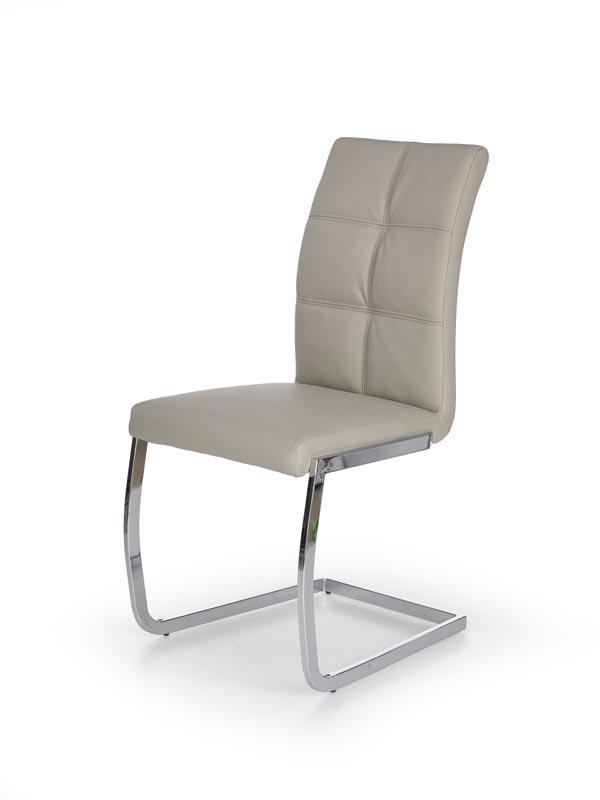 K228 stolička svetlo šedá
