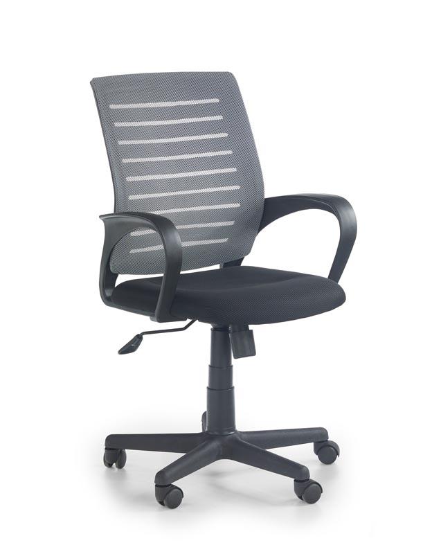 SANTANA kancelárska stolička čierna-šedá