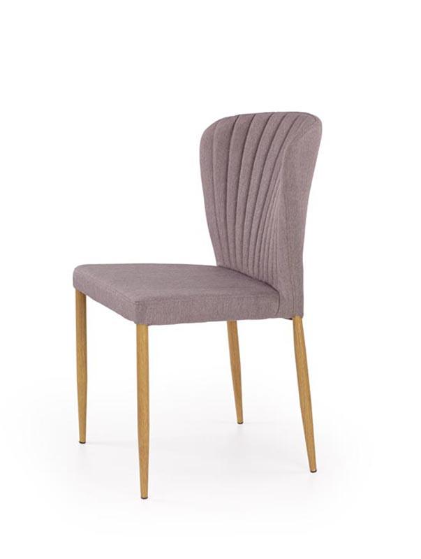 K236 stolička šedá