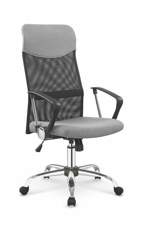 VIRE 2 kancelárska stolička tkanina šedá