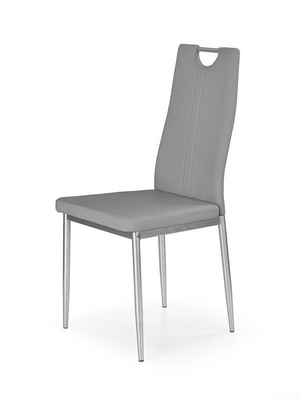 K202 jedálenská stolička šedá