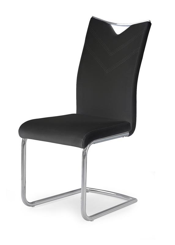 K224 stolička čierna