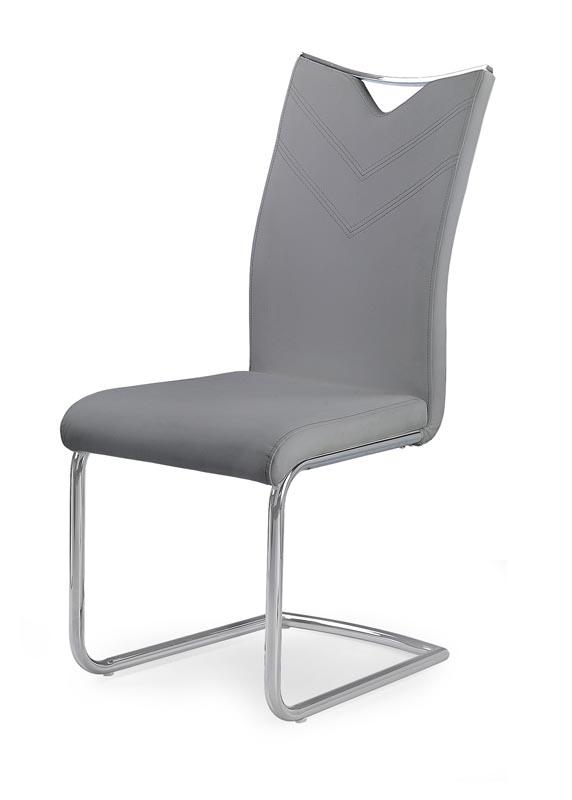K224 stolička šedá