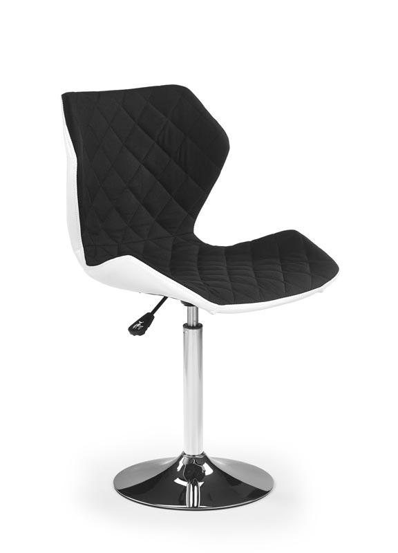 MATRIX 2 stolička bielo-čierna