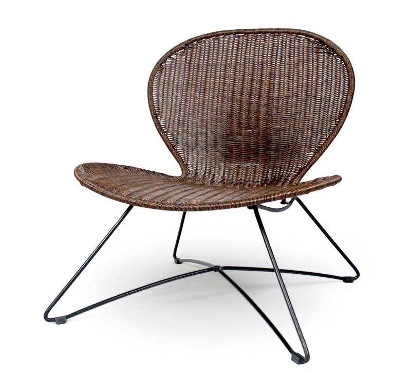TROY stolička hnedá