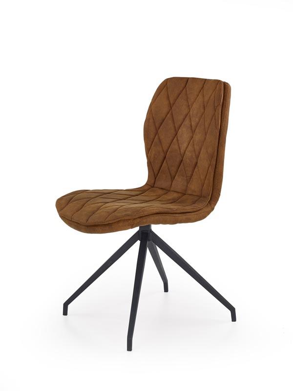 K237 stolička hnedá