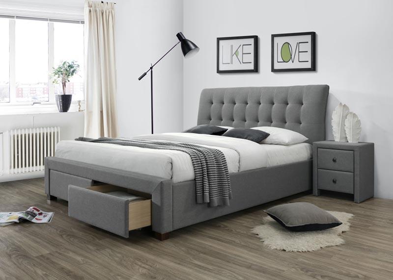 PERCY posteľ so zásuvkami