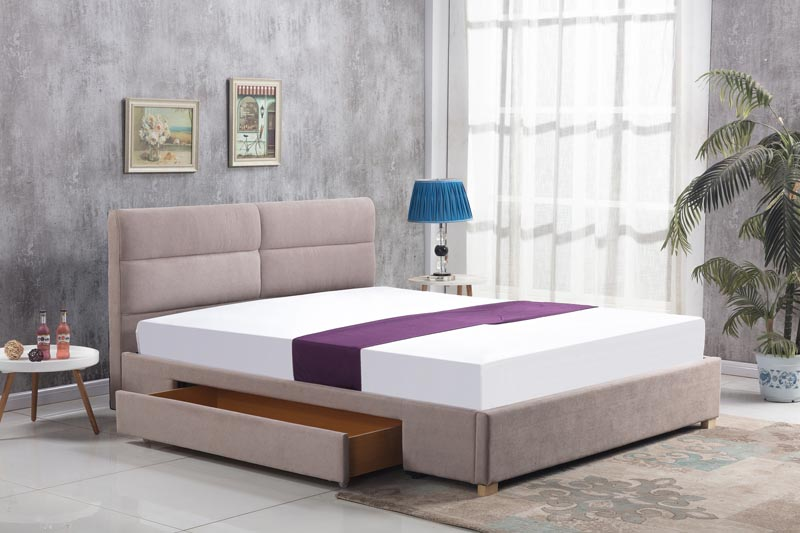 MERIDA posteľ, béžová