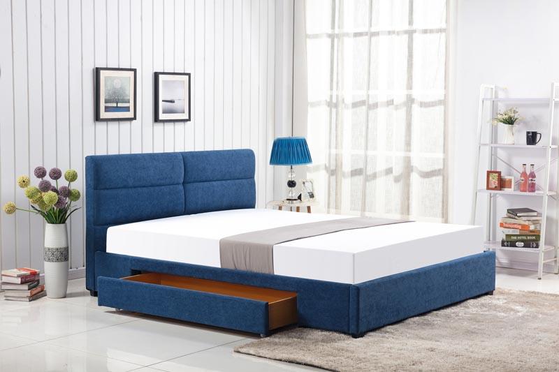 MERIDA posteľ, modrá