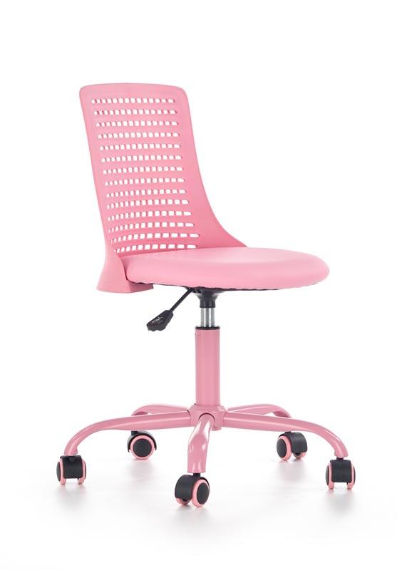 PURE kancelárska stolička, ružová