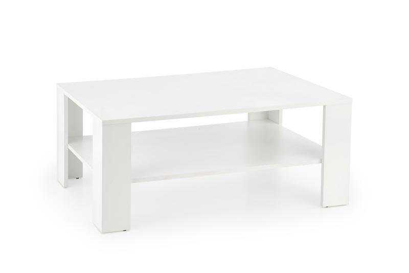 KWADRO konferenčný stolík, biela