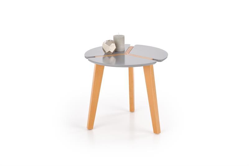 ZETA konferenčný stolík, šedá