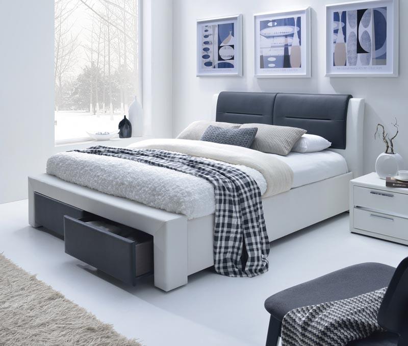 CASSANDRA S 140 posteľ so zásuvkami