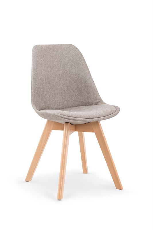 K303 jedálenská stolička, svetlo šedá