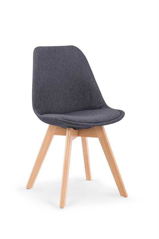 K303 jedálenská stolička, tmavo šedá