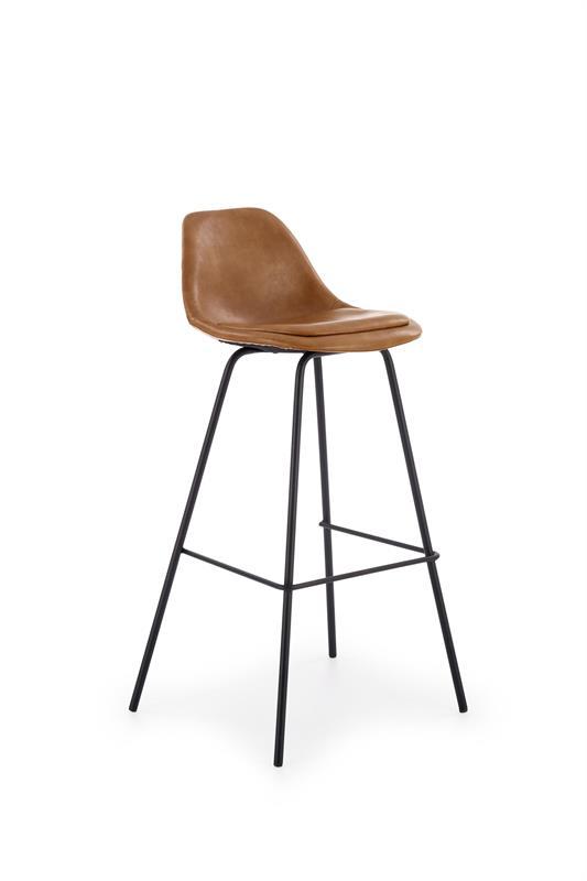 H90 barová stolička, svetlo hnedá