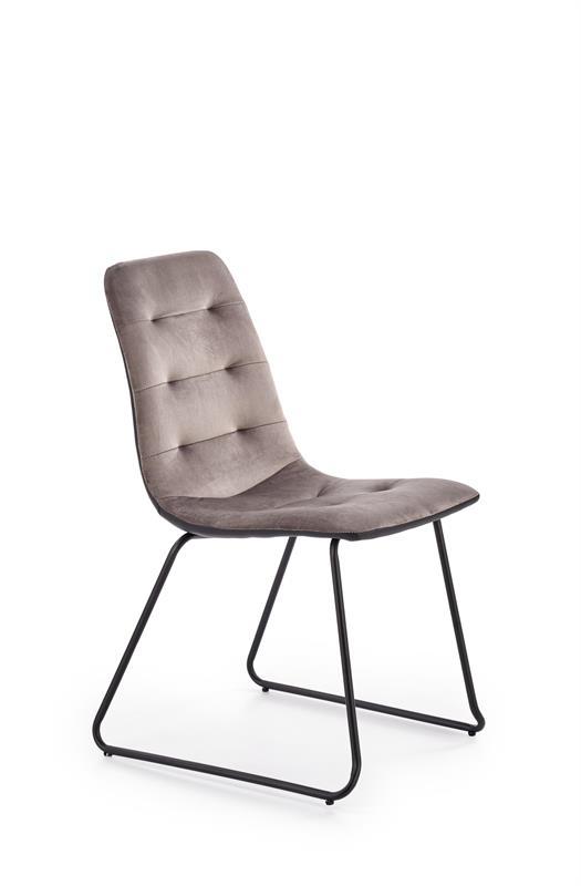 K321 jedálenská stolička, šedá / čierna