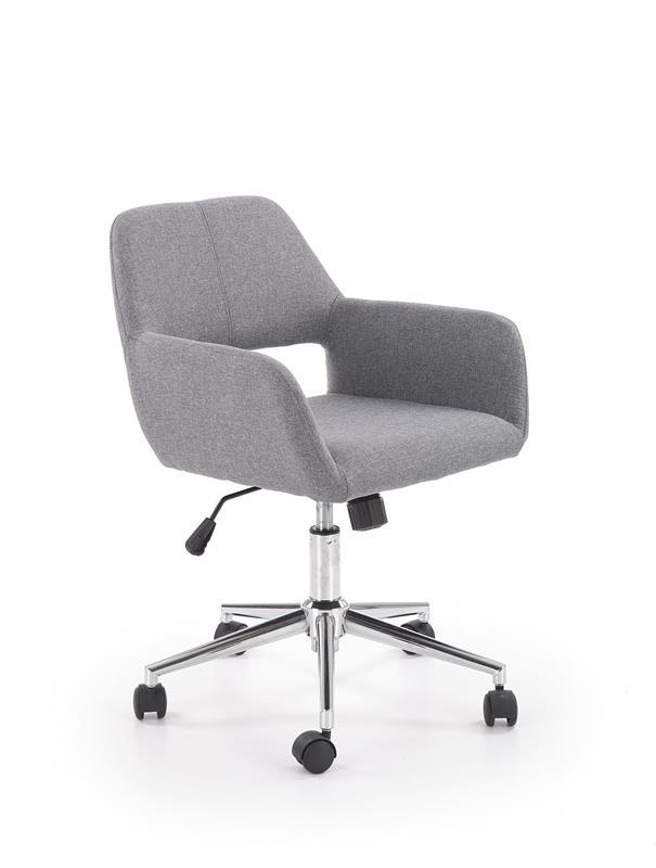 MOREL kancelárska stolička, šedá
