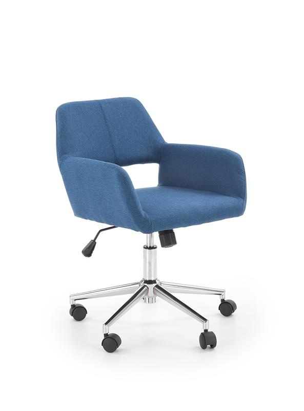 MOREL kancelárska stolička, modrá