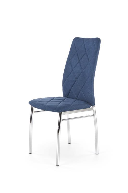K309 jedálenská stolička, modrá