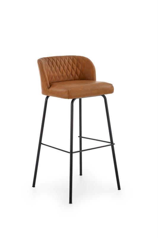 H92 barová stolička, svetlo hnedá