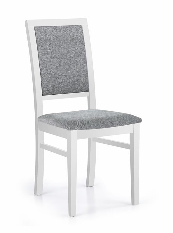 SYLWEK 1 jedálenská stolička biela / Inari 91