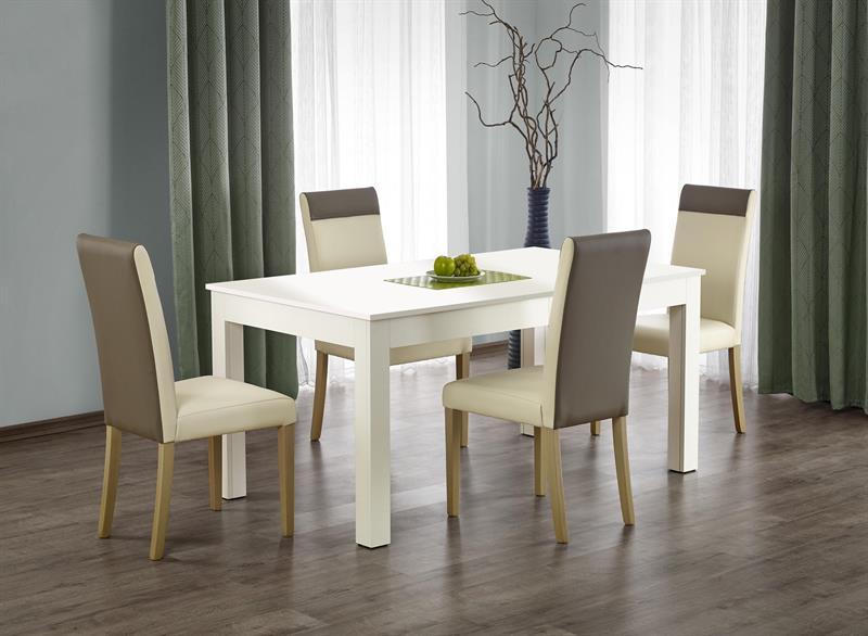 SEWERYN 160/300 cm rozkladací stôl biela
